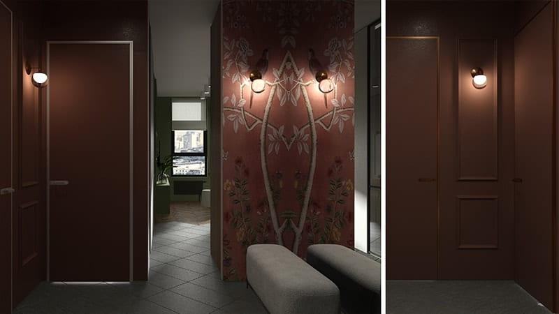 Дизайн интерьера ЖК «Tetris Hall», Киев